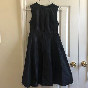 Jcrew silk sleeveless dress. Black size P0